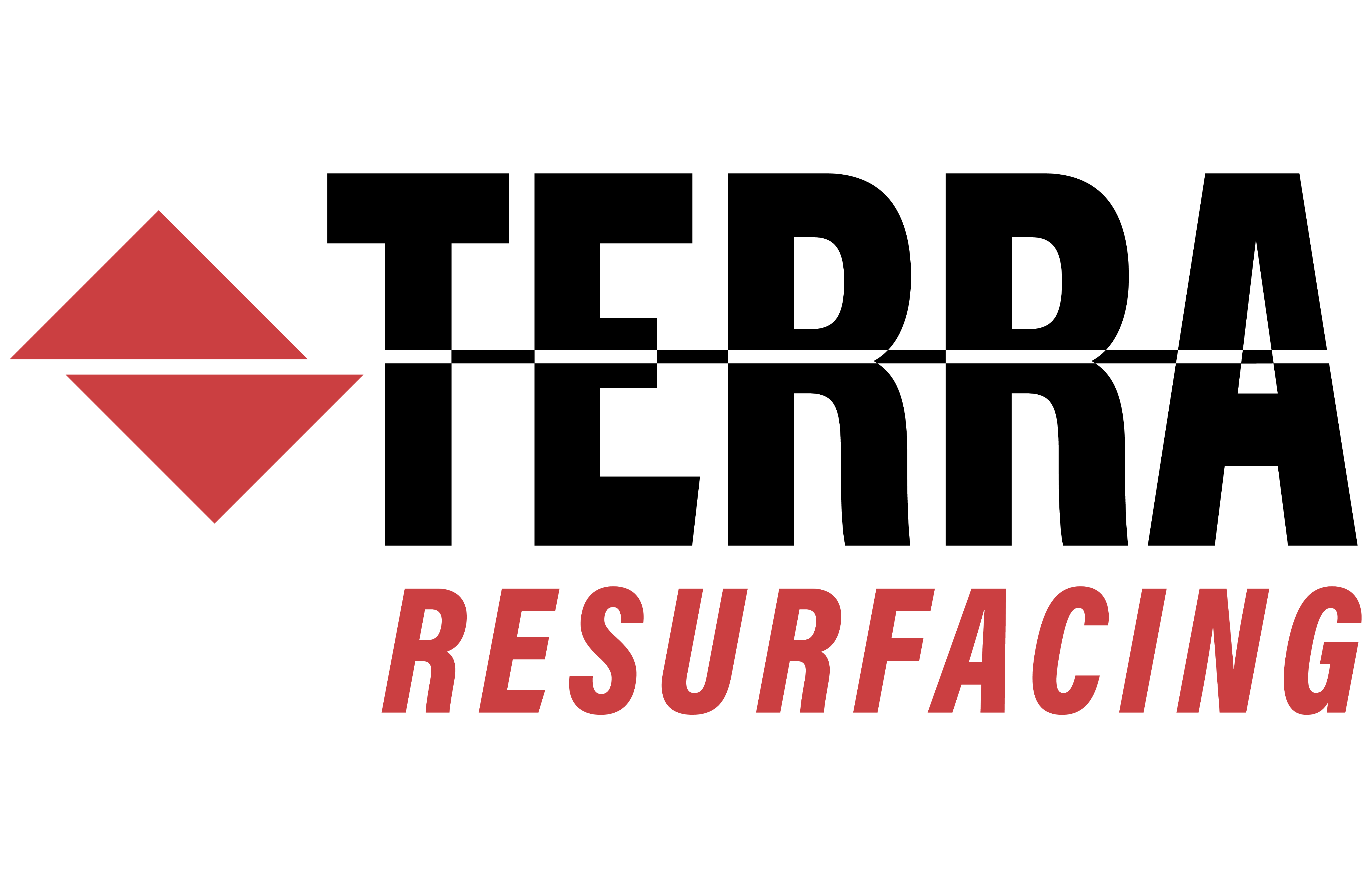 Terra Contracting Resurfacing Logo